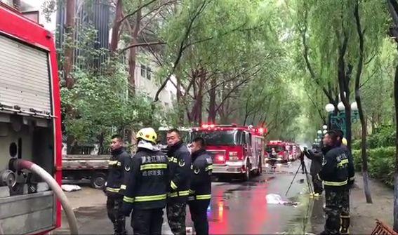 哈尔滨酒店大火,全国消防进风口,运动战or持久战?